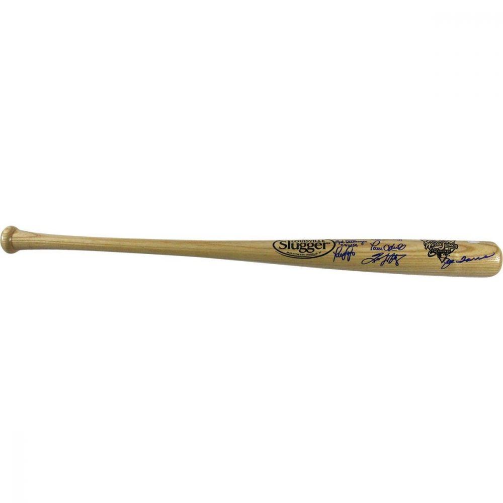 eddec1e1e Image 1 : New York Yankees Multi-Signed 2000 World Series Logo Bat With  Derek