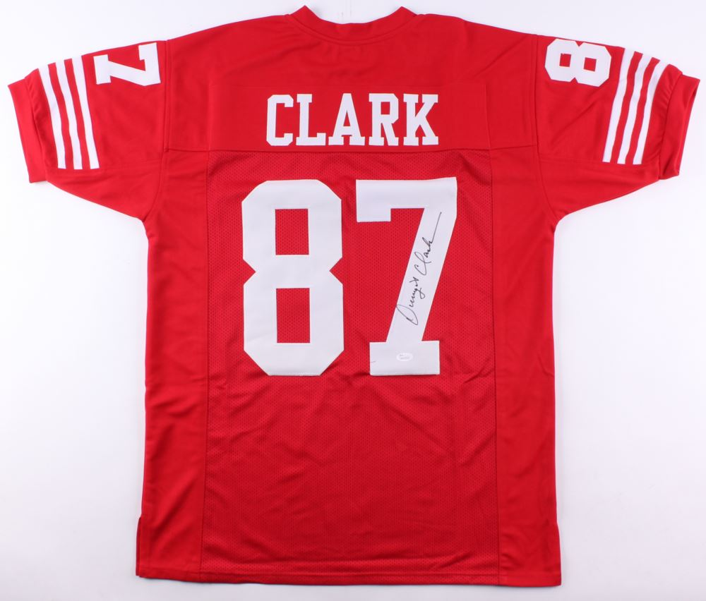057c197d4bb Image 1   Dwight Clark Signed 49ers Jersey (JSA COA)