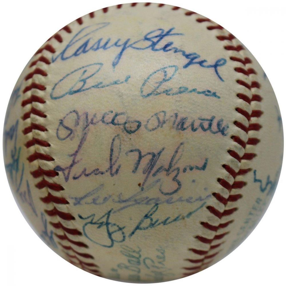 Signed Major League Baseball-guaranteed Authentic Billy Pierce 7 Time All Star