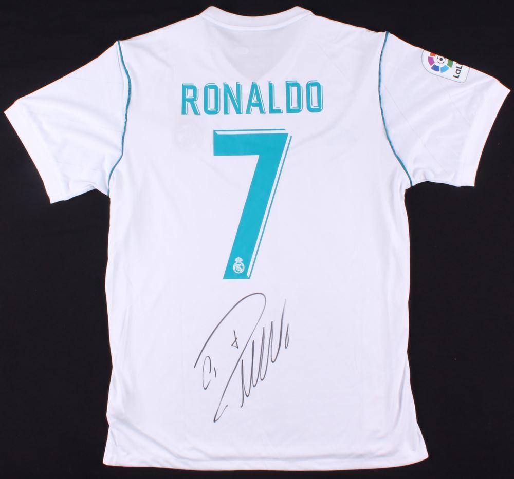 309b9bdbb77 Image 1   Cristiano Ronaldo Signed Real Madrid Adidas Soccer Jersey  (Beckett COA)