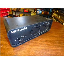 Micro-Vu Computerized Video Reticle, M/N: 9010