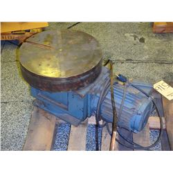 """16"""" Magnetic Chuck Rotary Table, S/N- HC-16-37183"""
