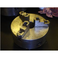 """Strong 8"""", 3 Jaw Manual Chuck with D1-6 Mount, P/N: L2107"""