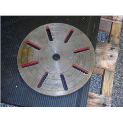 """9.25"""" Diameter Lathe Face Plate"""