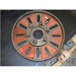 """14"""" Diameter Lathe Face Plate with D1-6 Mount"""