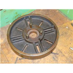 """17"""" Diameter Lathe Face Plate, with D1-6 Mount?"""
