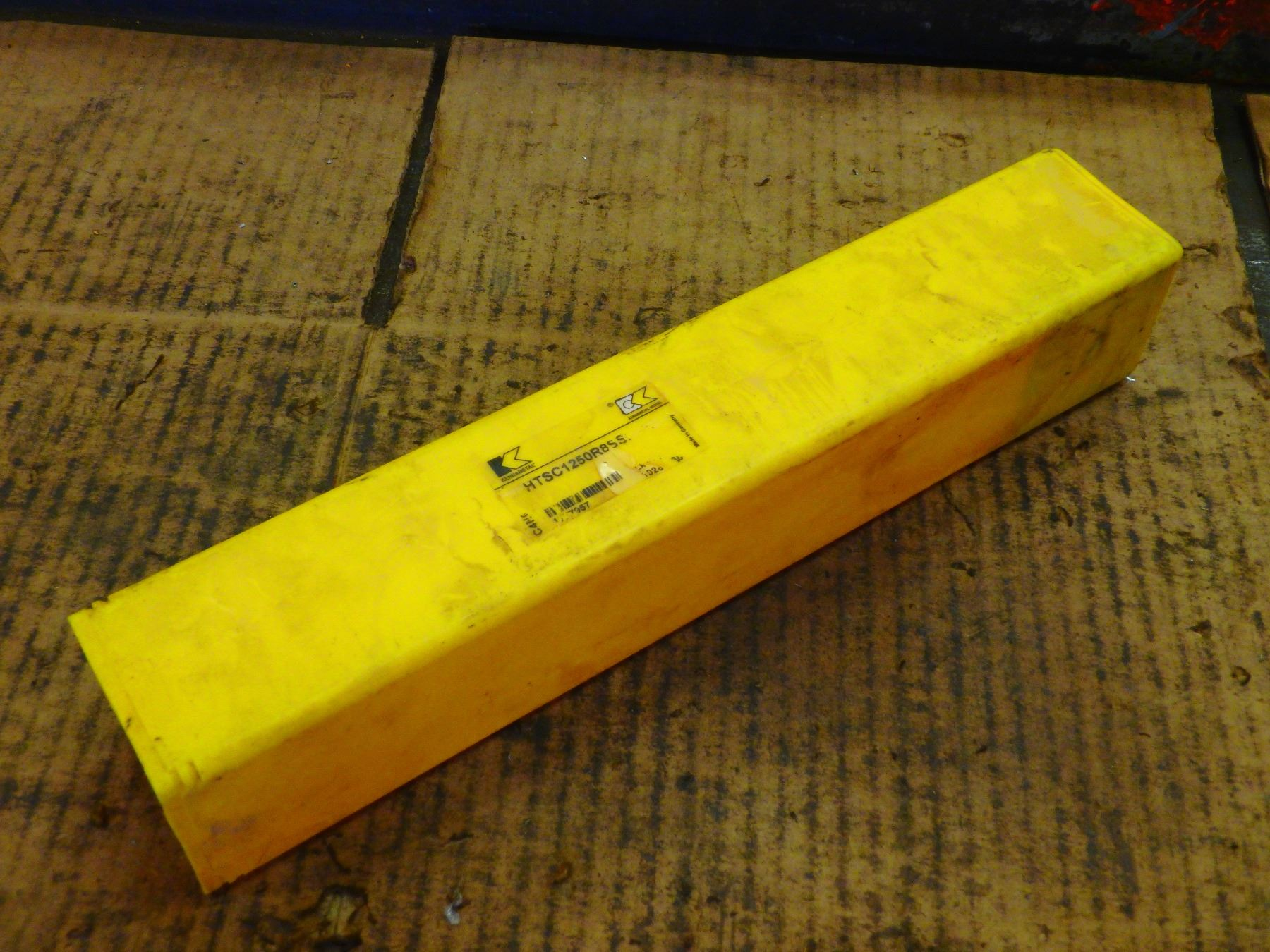 Kennametal Indexable Coolant Thru Deep Hole Drill, P/N: HTSC1250R8SSF150