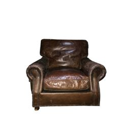 Study in Brown Chair