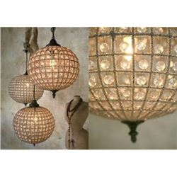 Kaley Globe Lantern Small to Medium