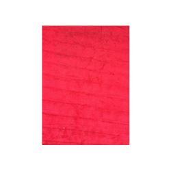 Red Silky Shag Rug