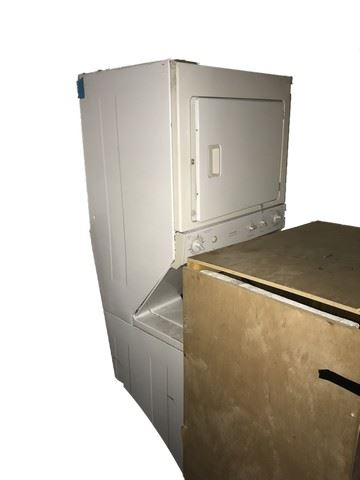 GE Spacemaker Washer & Dryer (approx  6' tall)