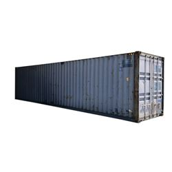 Industrial Storage/Shipping Container with Custom Doors