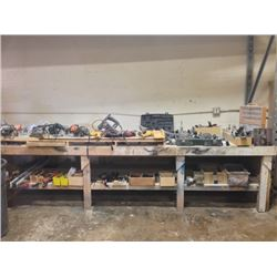 Massive Lot of Power Tools and Tools