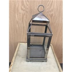 Silver and Glass Lantern