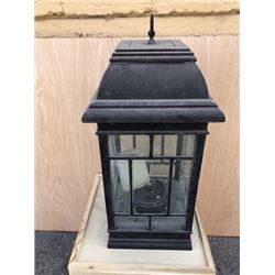 Black Glass Lantern