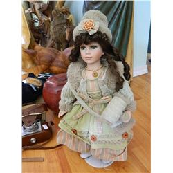 COLLECTORS DOLL - CASSANDRA DOLL COLLECTION - 2004 - STAND NOT INCLUDED