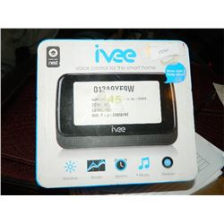 IVEE - VOICE CONTROL FOR SMART HOME - STORAGE LOCKER - CONDITION UNKNOWN - UNTESTED