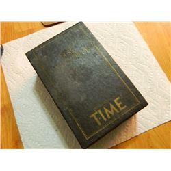 BOOK - SET - DESK ENCYCLOPEDIA PRESENTED BY TIME - 3 BOOK SET