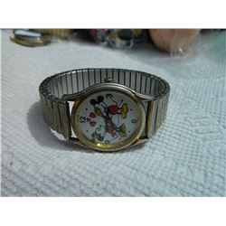WATCH - MICKEY MOUSE - SPRING STRAP
