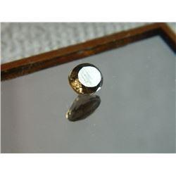 GEMSTONE - SMOKIE TOPAZ - OVAL FACETED - 8.0 X 6.1 X 4.2mm