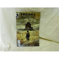 DARK HORSE COMICS - FREAKS OF THE HEARTLAND #1 2004 - GOOD CONDITION