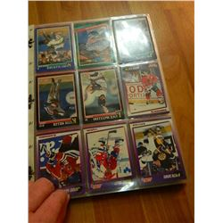 COLLECTION OF HOCKEY CARDS - 13 SHEET TTL