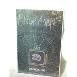 ANGRYMAN #3 - 1992 -NEAR MINT - WITH BAG & BOARD