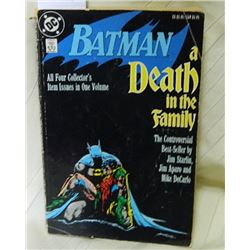 DC COMIC - BATMAN - A DEATH IN THE FAMILY 1ST PRINTING - FAIR CONDITION
