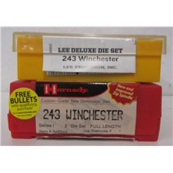 LEE AND HORNADY 243 WINCHESTER DIE SETS