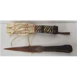 CEREMONIAL KNIFE WITH SHEATH