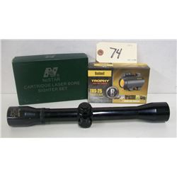 SCOPE AND BORE SIGHTER LOT