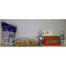 BOX LOT BRASS AND DIES