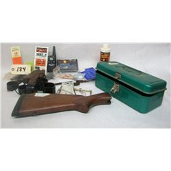 ASSORTED LOT OF SHOOTING ACCESSORIES