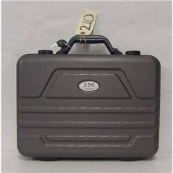 ADG HARD PISTOL CASE WITH KEYS