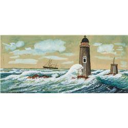 JAMES GALE TYLER American 1855-1931 Watercolor