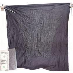 AVENGERS INFINITY WAR BLACK PANTHER LARGE UNCUT COSTUME PATTERN PANEL 4
