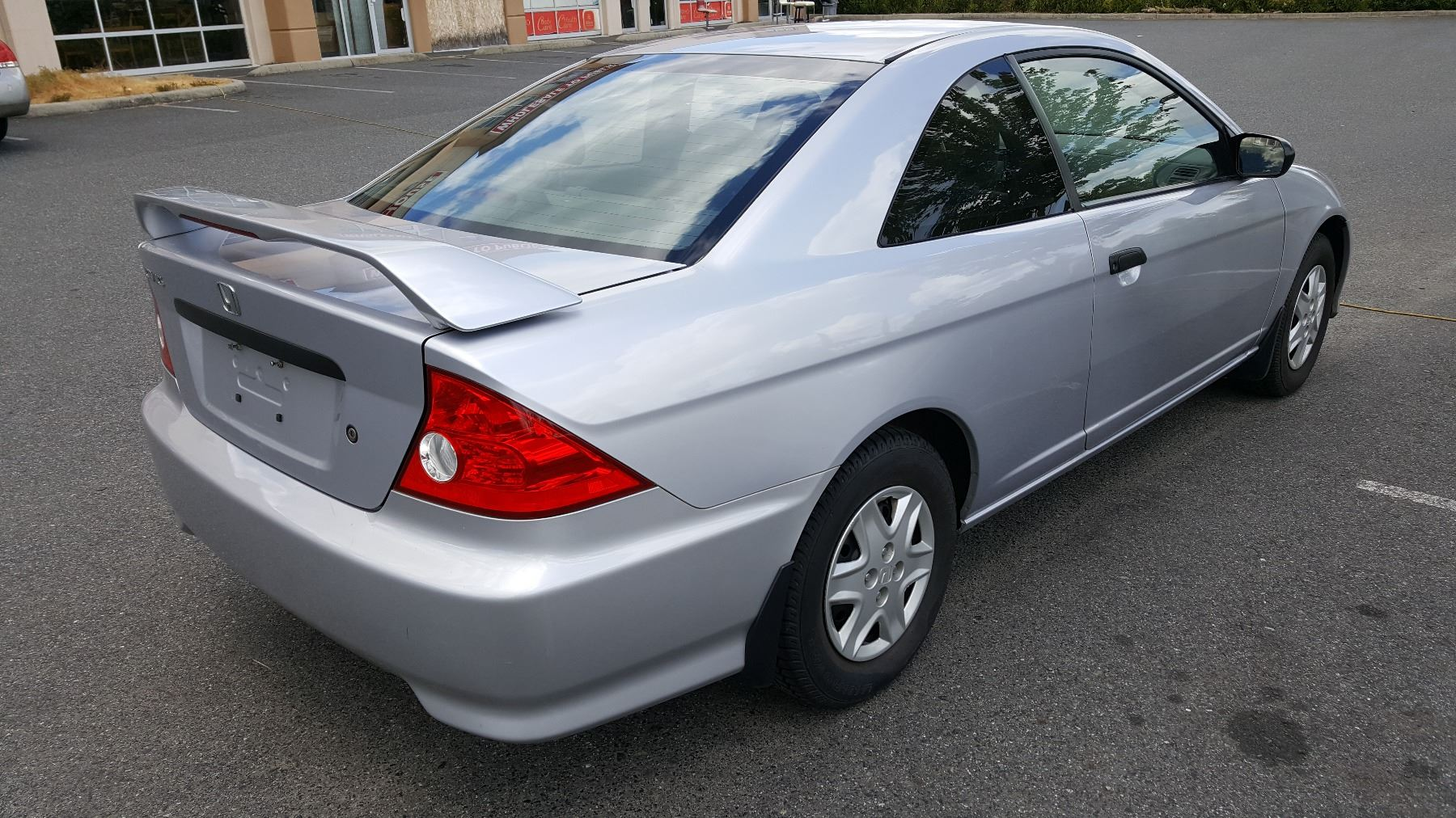 2004 Honda Civic 2 Door Coupe 193547km 5 Speed Manual With 3 Keys And Registration