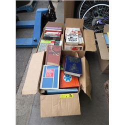3 Boxes of Assorted Books