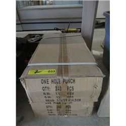 2 Cases of New One Hole Punch