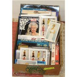BOX FULL OF PRINCESS DIANA & ROYAL FAMILY