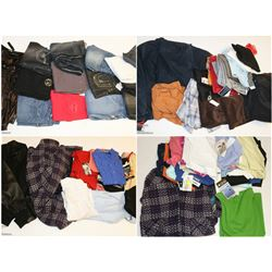 FEATURED ITEMS: HIGH END CLOTHES BY THE BOX!