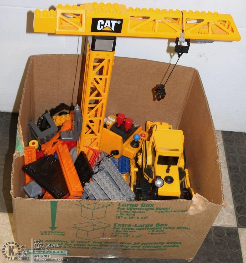 Box Wmega Blocks Cat Tower Crane