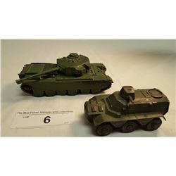 2 Army Tanks