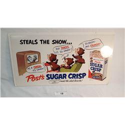Post Sugar Crisp Ad