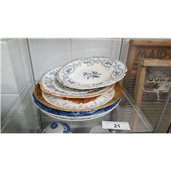 Lot of Early Porcelain Plates