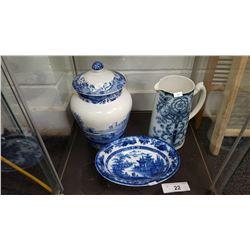 3 Nice Vintage Porcelain Pieces