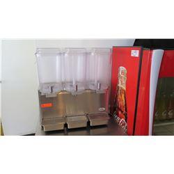 Crathco Frozen Beverage Dispenser with 3 Tanks