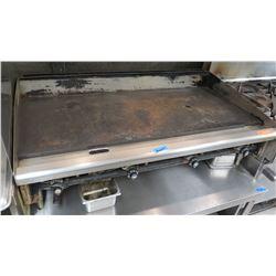 """4-Burner Flat Top Grill 48"""" L x 35"""" X 39"""" H"""