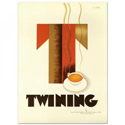 """Twining"" Hand Pulled 38x52 Lithograph"