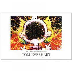 "Tom Everhart ""Big Loud Screaming Blonde"" Fine Art 36x24 Poster"
